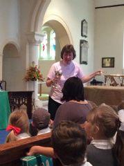Early Years Visit to St James Church